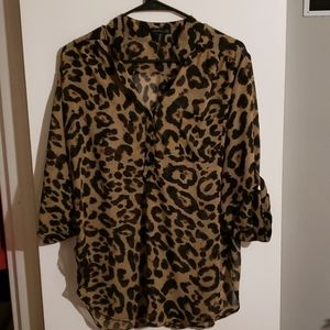 CALS ANIMAL PRINT BLOUSE